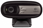 Веб-камера Logitech WebCam C170  (USB 2.0, 640*480, 0,3 MP, микрофон) - 960-000760 / 960-000957