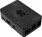 Корпус ACD Black ABS Plastic case with Logo for Raspberry Pi 3