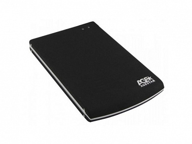 "Внешний корпус AgeStar SUB2O5 (black) usb2.0 to 2.5""hdd SATA алюминий"