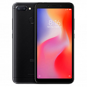 Смартфон XIAOMI Redmi 6A 16Gb Black