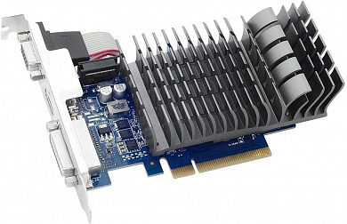 Видеокарта ASUS GeForce GT 710,  710-1-SL, 1Гб, DDR3, Ret