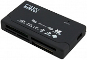 Картридер CBR CR-455, All-in-one, USB 2.0, ноут., софттач