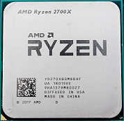 Процессор AMD Ryzen 7 2700X / 3.2-4.35 GHz / 8 cores / 16 threads / 65W TDP / AM4 / OEM