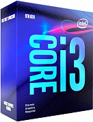 Процессор INTEL Core i3-9100F / 3.6-4.2 GHz, 4 cores, 4 threads, 6MB cache, 65W TDP, 65W TSS, LGA1151, Coffee Lake / BOX