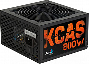 Блок питания Aerocool KCAS-800W (ATX 2.3, 800W, Active PFC, 120mm fan, 80 PLUS BRONZE) Box