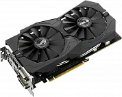 Видеокарта ASUS GeForce GTX1050Ti Strix Gaming / 4GB GDDR5 128bit / 2xDVI-D, HDMI, DisplayPort / STRIX-GTX1050TI-4G-GAMING / RTL