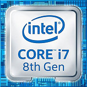 Процессор INTEL Core i7-8700K / 3.2-4.6 GHz / 12MB cache / 6 cores / 12 threads / UHD Graphics 630 / 65W TDP / LGA1151 / OEM